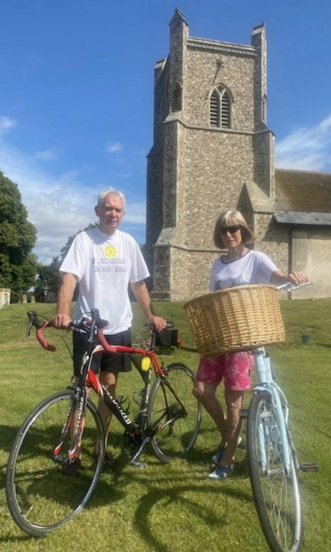 Ian & Mary cycle for Suffolk Historic Churches