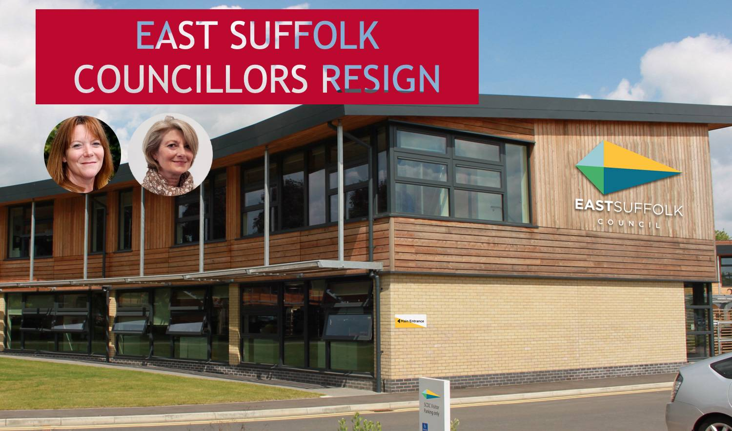 East Suffolk - Councillor resigns due to district authority's damaging energy aspirations.