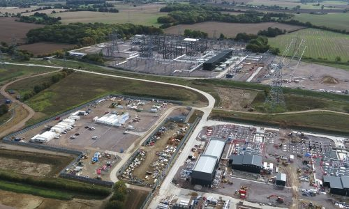 SPR Substations at Bramford in Suffolk IP8.